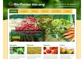 Bio Forme, wordpress