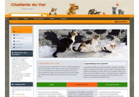 Chatterie du var, wordpress