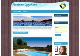 Piscines Offshore template